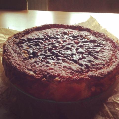Quark-Birnen-Kuchen