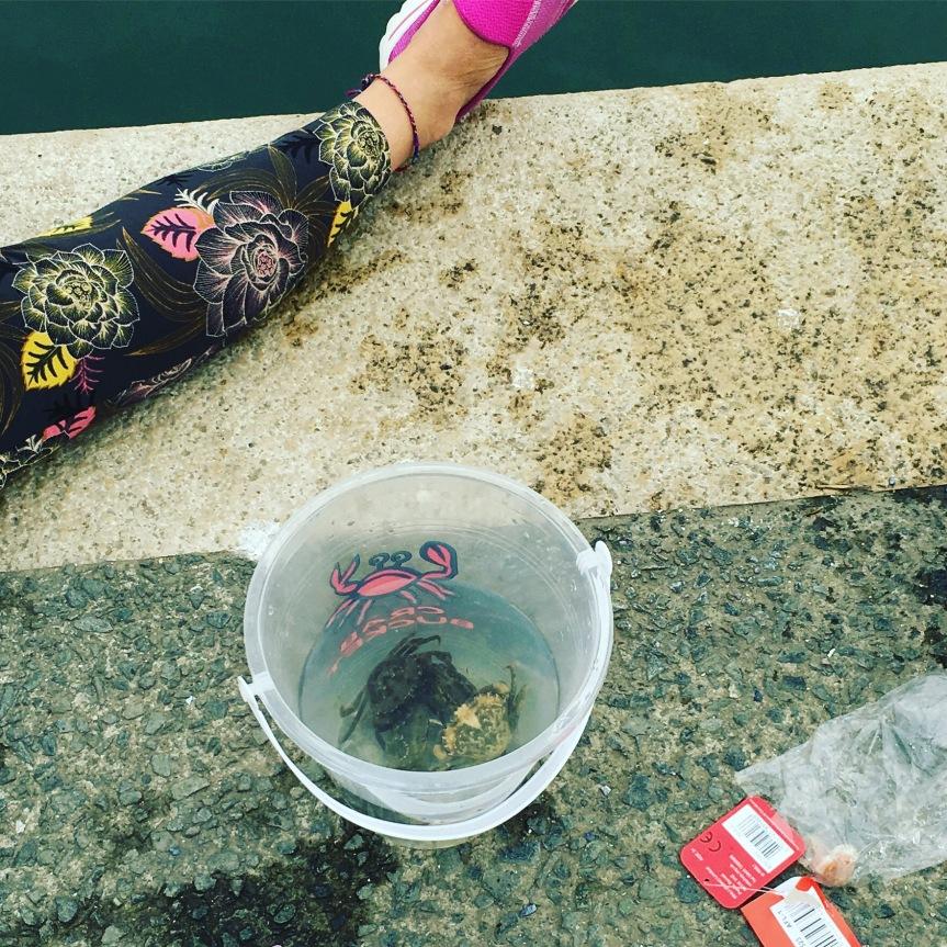 Krebse angeln