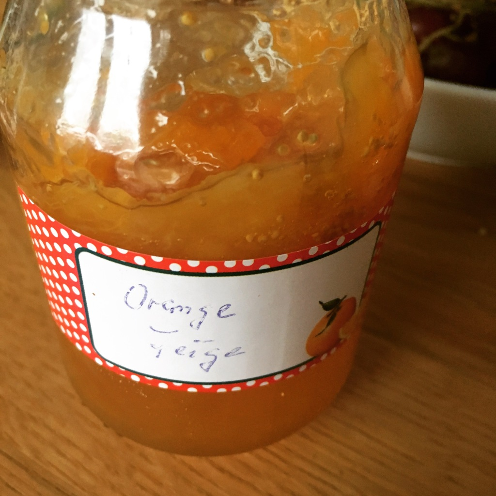 Orangen-Feigen-Marmelade